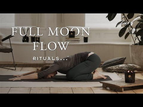 Full Moon Yoga Flow To Renew Your Balance On Restless Nights (20-minute Yoga Practice)   Rituals