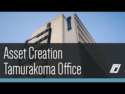 Cities Skylines - Asset Creation - Tamurakoma Office