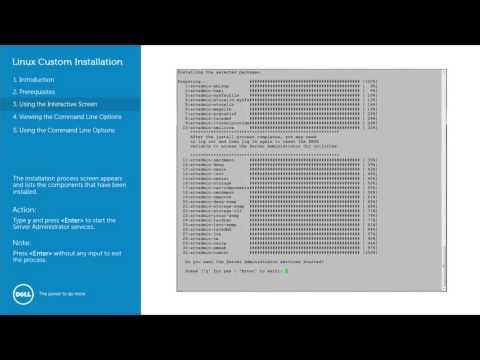 Dell OpenManage Server Administrator - Linux Granular
