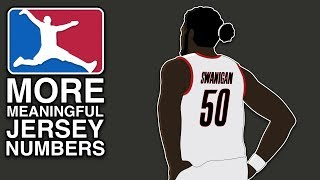 MORE Meaningful NBA Jersey Numbers