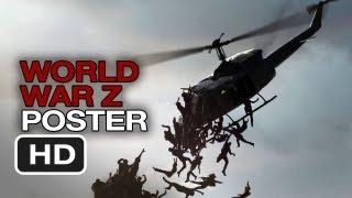 World War Z NEW POSTER (2013) Brad Pitt Movie HD