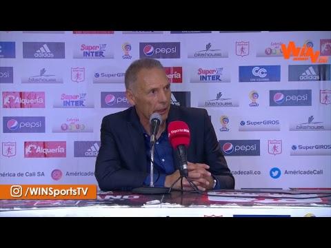 Habla Miguel Ángel Russo tras la victoria de Millonarios sobre América