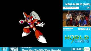 Mega Man 10 by slurpeeninja in 37:05 - Awesome Games Done Quick 2016 - Part 134