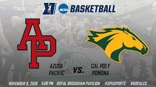 Men's Basketball: Azusa Pacific vs. Cal Poly Pomona - November 8, 2019 @ 5:00pm