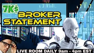 $6,900 Verified Profit with BROKER STATEMENTS - FRIDAY Day Trading Mentorship
