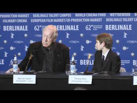 Extremely Loud And Incredibly Close | Press Conference Pt. 1 (2012) Berlinale 2012
