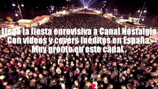 Próximamente llega la Fiesta de Eurovisión a Canal Nostalgia