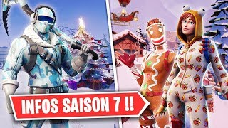 FORTNITE SAISONS 7 ... (SNOW,SKIN,FIGHT PASS...?)
