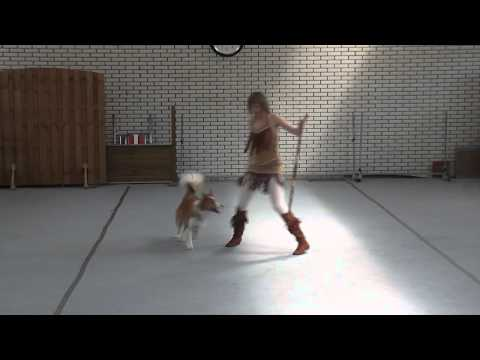 Chanti en Flame – dog dance routine