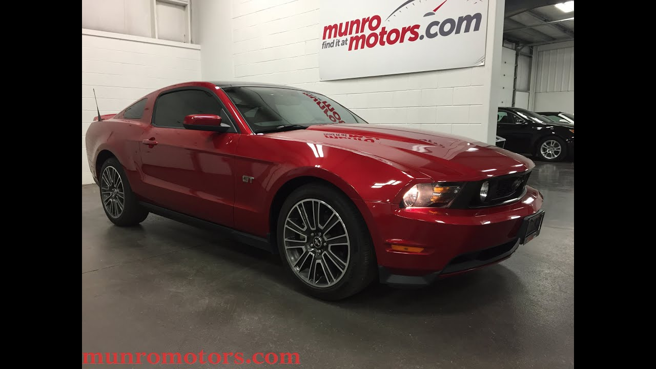 Mustang Gt 0 60 >> 2010 Mustang GT Glass roof Coupe SOLD Munro Motors - YouTube