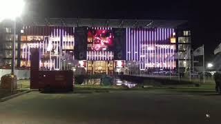 Antwerp 1-0 Mouscron (nieuwe tribune)