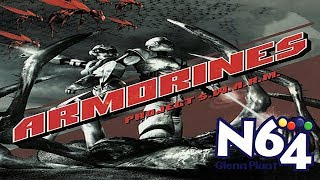 Armorines : Project Swarm - Nintendo 64 Review - HD
