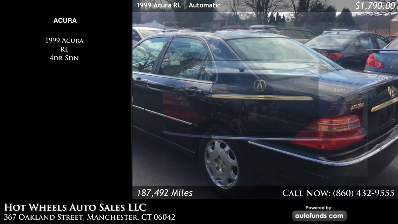 Used Acura RL Hot Wheels Auto Sales LLC Manchester CT - Acura rl wheels for sale
