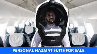 Travel with your own personal hazmat suit