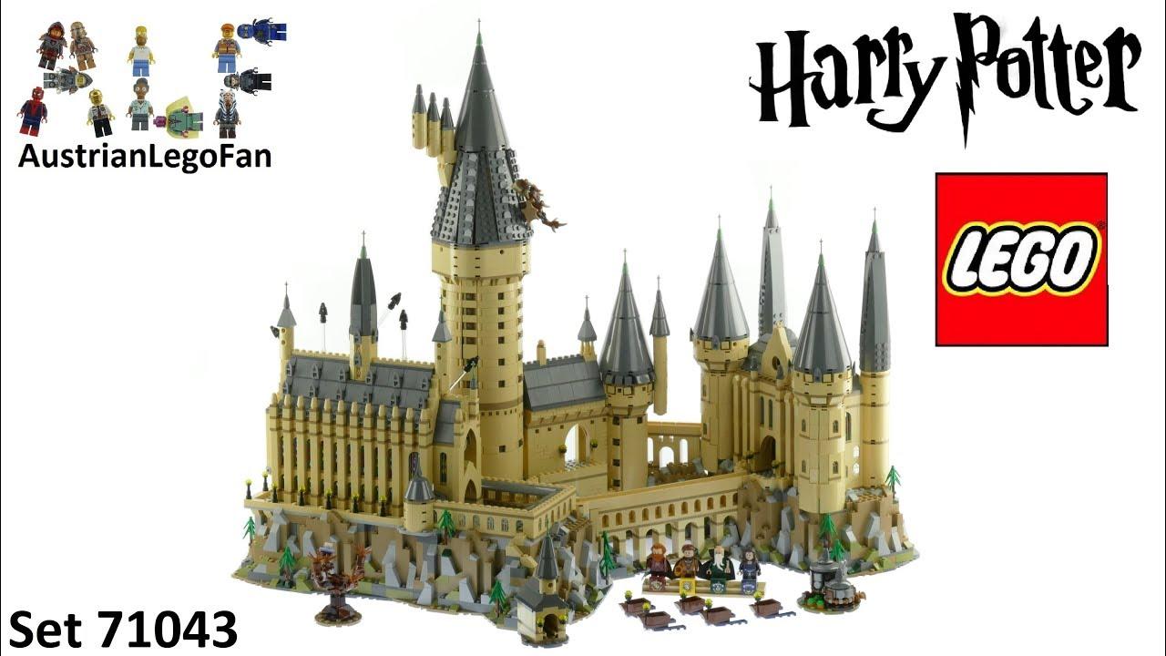 lego harry potter 71043 hogwarts castle lego 71043 speed build youtube. Black Bedroom Furniture Sets. Home Design Ideas