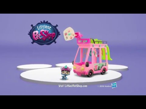 Hasbro - Littlest Pet Shop Toys - LPS Shuttle Playset