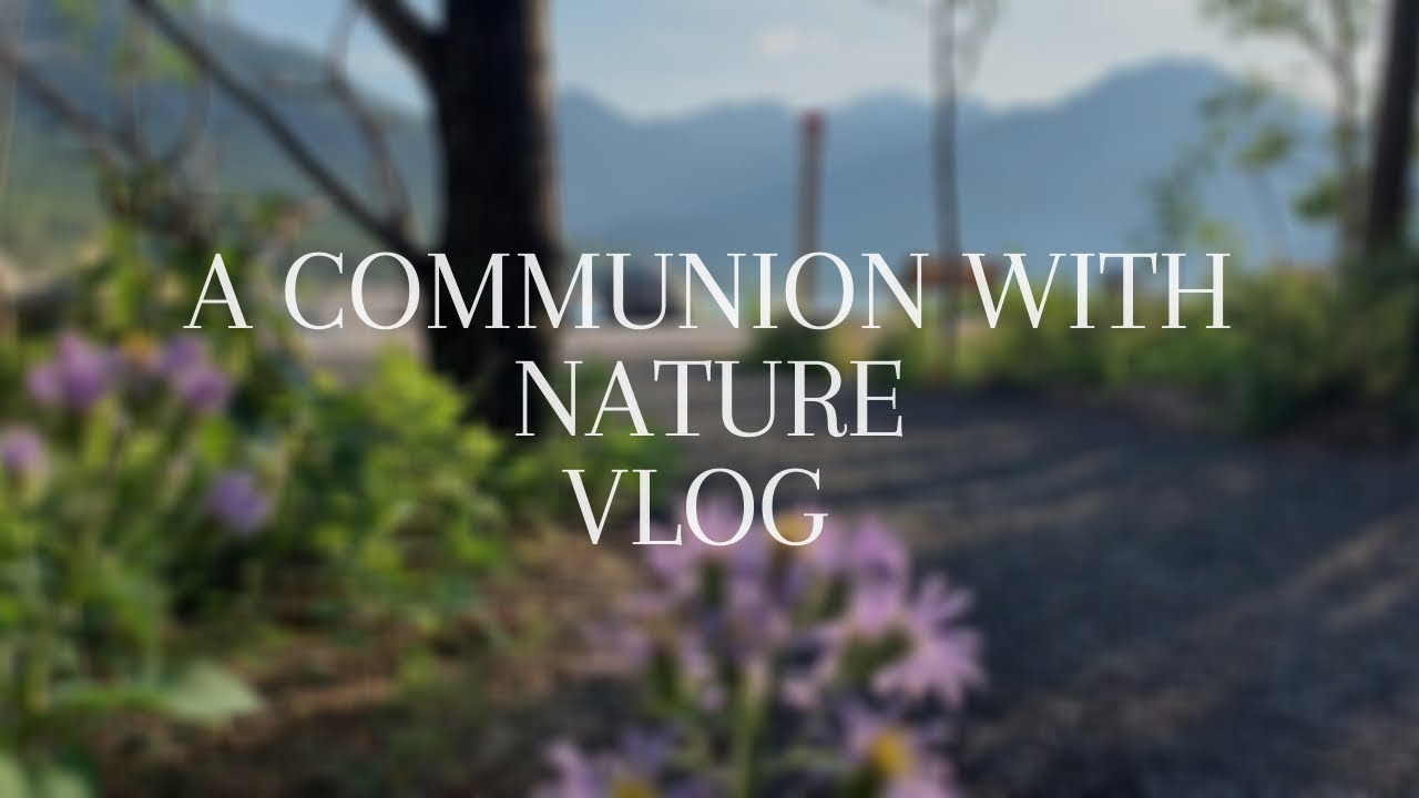 A Communion with Nature | Relax with Me | Simple Living Vlog