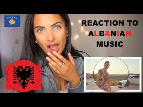 REACTION TO ALBANIAN/KOSOVO MUSIC! (ENCA, NOIZY, BUTRINT IMERI) PART 2