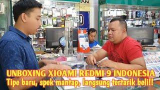 UNBOXING XIOAMI REDMI 9 INDONESIA   Tipe baru, spek mantap, langsung tertarik beli‼️😉👍👍