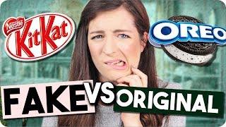 Glutenfreie VS Originale Süßigkeiten l FAKE VS ORIGINAL