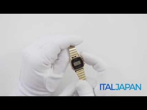 530960e8dfdf Orologio Casio Retro Vintage LA670WGA-1D - YouTube