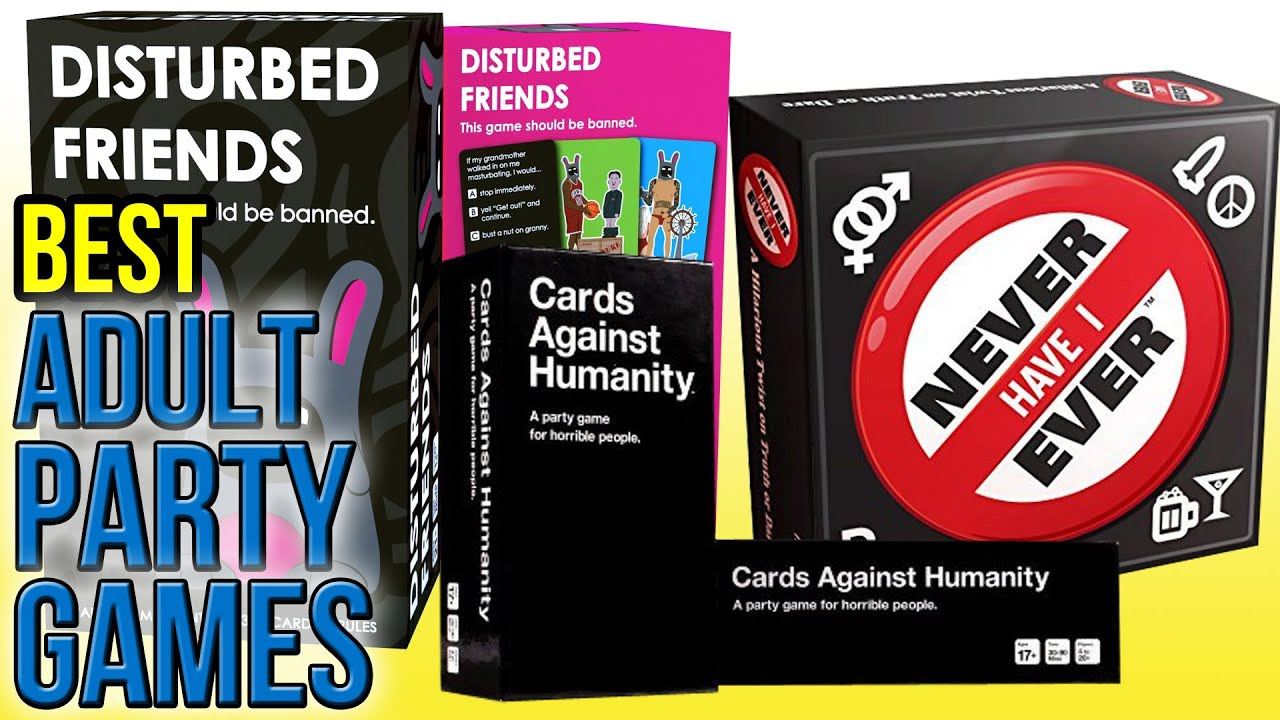 Top Card and Board Games for Adults - Rated Naughty to Nice!