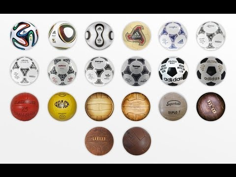 World Cup Ball Evolution 19302014.