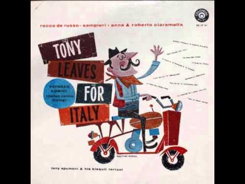 Tony Leaves For Italy—Rocco De Russo and Ria Sampieri