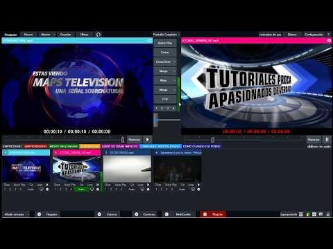 Como colocar publicidad automatica en películas con vmix  Versión 4K Y Pro