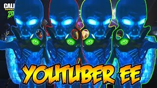 INFINITE WARFARE ZOMBIES - 4 YOUTUBER EASTER EGG RUN! (Zombies In Spaceland)