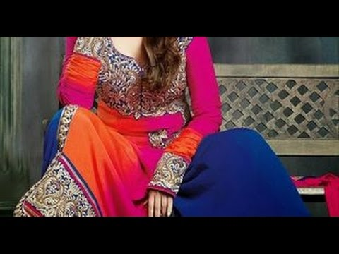 Pakistani Eid Dresses For Girls 2017