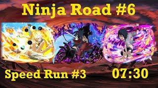 Naruto Shippuden: Ultimate Ninja Blazing - Ninja Road #6: Speed Run #3 (07:30)