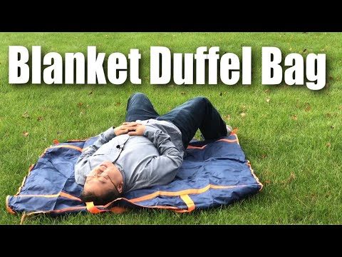 Multifunctional Picnic Blanket, Travel Bag, Table Cloth Review