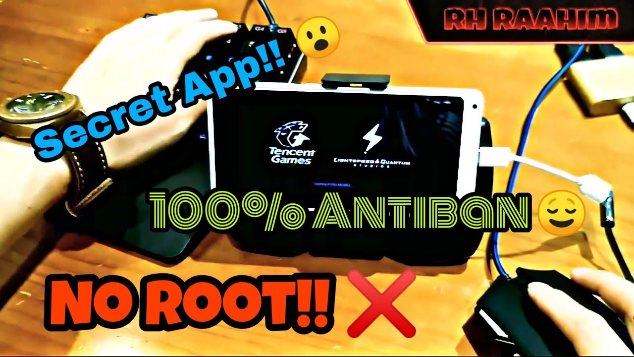 Pubg Mobile 0 9 5 🔥 Without Octopus Play With Mouse Keyboard | 100%  Antiban ❌! Secret App