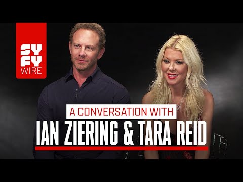 Sharknado Is Ending?! Tara Reid And Ian Ziering Speak  SYFY WIRE