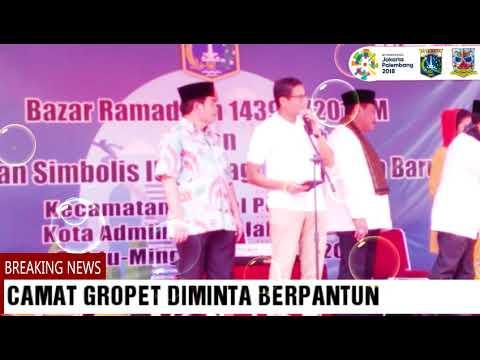 Wagub Sandi Uno Launching IUMK & Bazar Ramadhan 1439 H di  Kecamatan Grogol Petamburan Mp3