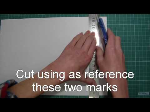 How To Cut A4 Size In Letter Size And Letter Size In A4 Size
