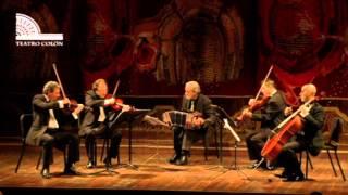 Cuarteto Gianneo y Rodolfo Mederos - Piazzolla: five sensations tango - 2 - Loving