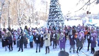 Флешмоб в городе Томск
