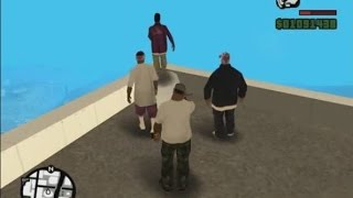 GTA San Andreas Funny suicidal Die Moment