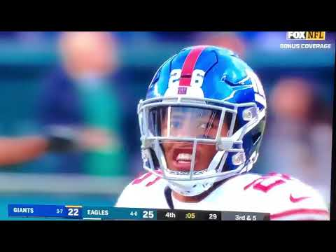 Fox NFL commentator says New York Giants Eli Manning has no BALLS!!!