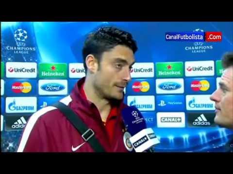 Albert Riera Real Madrid vs Galatasaray 3-0 Champions League 03-04-2013