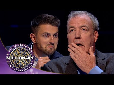 Clarkson Doesn't Know The Answer To Ask The Host - Who Wants To Be A Millionaire?