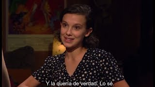 Stranger Things 2 | Millie Bobby Brown on her character Eleven (Sub. Español)