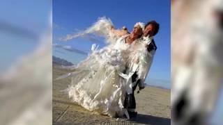 Самые странные и необычные свадебные платья, приколы ржач 2017