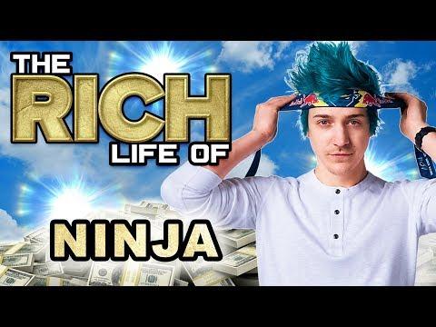 Ninja | The Rich Life | $50 Million from Mixer