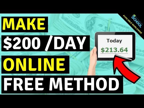 How To Earn Money Online 2019 ($200+ Per Day!)