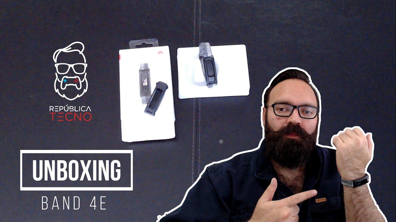 Unboxing: revisamos la Band 4e de Huawei y sus características