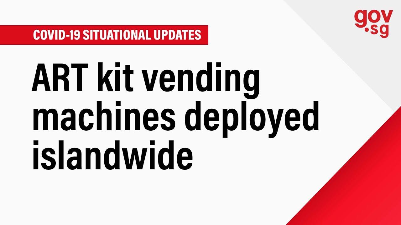 Download ART kit vending machines deployed islandwide
