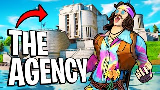 So I Dropped The Agency for an ENTIRE DAY and this Happened... (Fortnite)